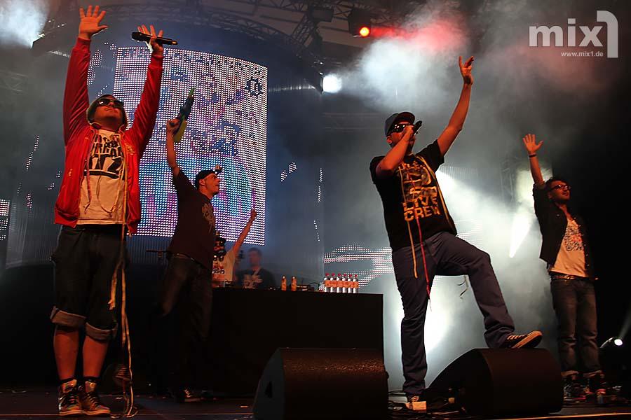 Foto:2012   Die Atzen