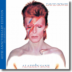 Cover: David Bowie - Aladdin Sane - 40th Anniversary Edition