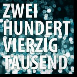 Cover: Tiemo Hauer - Tiemo Hauer & Band - zweihundertvierzigtausend