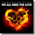 Cover:  Crushboys feat. Miami Beat Wave - We All Need The Love