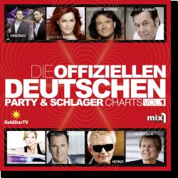 Cover: Die offiziellen Deutschen Party & Schlager Charts Vol. 1 - Various Artists