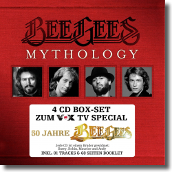Cover: Bee Gees - Mythology - 50 Jahre Bee Gees