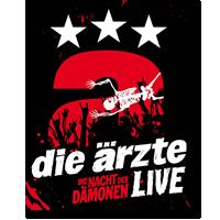 Cover: Die Ärzte - LIVE - Die Nacht der Dämonen
