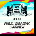 Cover:  Paul Van Dyk & Arnej - We Are One 2013