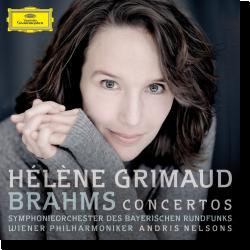 Cover: Hélène Grimaud - Brahms: Klavierkonzerte Nr. 1 und Nr. 2