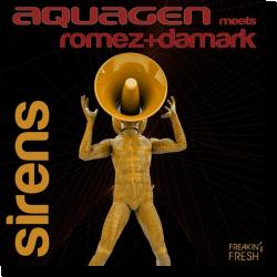 Cover: Aquagen meets Romez+Damark - Sirens