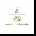 Cover:  Marshall & Alexander - Weihnachten mit Marshall & Alexander
