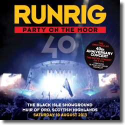 Cover: Runrig - Party On The Moor  (The 40th Anniversary Concert)