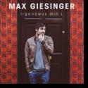 Cover:  Max Giesinger - Irgendwas mit L