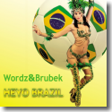 Cover: Wordz & Brubek - Heyo Brazil
