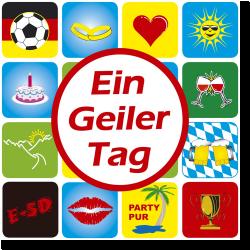 Cover: E-SD - Ein geiler Tag