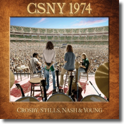 Cover: Crosby, Stills, Nash & Young - CSNY 1974