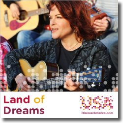 Cover: Rosanne Cash with Los Lobos & Bebel Gilberto - Land Of Dreams