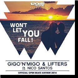Cover: Gigo'N'Migo & Lifters feat. Nico Santos - Won't Let You Fall