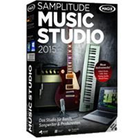 Cover: MAGIX Samplitude Music Studio 2015 - MAGIX