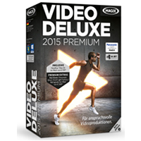Cover: Magix Video deluxe 2015 - Magix