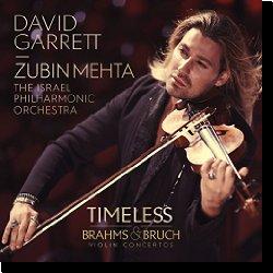 Cover: David Garrett - Timeless - Brahms & Bruch Violin Concertos