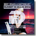 Cover:  Gerry Verano & DJ Electronic Boy - Sunset In Miami 2014