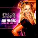 Cover: Marie-José van der Kolk - Ademloos Door De Nacht