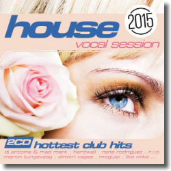 Cover: House: The Vocal Session 2015 - Various Artists
