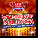 Cover:  Axel Fischer - Wir sind auf Mallorca (Auf die Insel und das Leben)