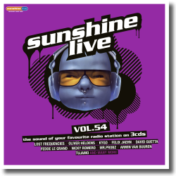 Cover: sunshine live vol. 54 - Various Artists