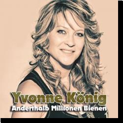 Cover: Yvonne König - Anderthalb Millionen Bienen