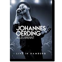 Cover: Johannes Oerding - Alles brennt - Live in Hamburg
