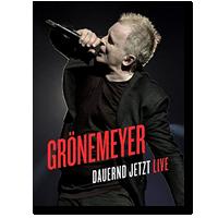 Cover: Herbert Grönemeyer - Dauernd Jetzt - Live