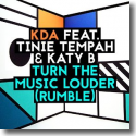 Cover: KDA feat. Tinie Tempah & Katy B - Turn The Music Louder (Rumble)