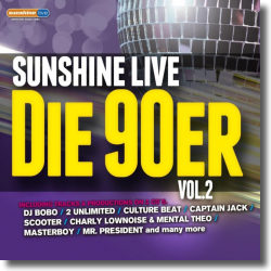 Cover: sunshine live  - Die 90er  Vol. 2 - Various Artists