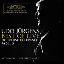 Cover: Udo Jürgens - Best Of Live – Die Tourneehöhepunkte Vol. 2