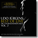 Cover:  Udo Jürgens - Best Of Live – Die Tourneehöhepunkte Vol. 2