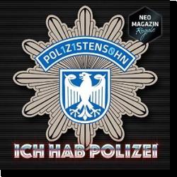 Cover: POL1Z1STENS0HN a.k.a. Jan Böhmermann - Ich hab Polizei