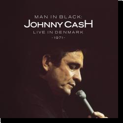 Cover: Johnny Cash - Man in Black: Live in Denmark 1971