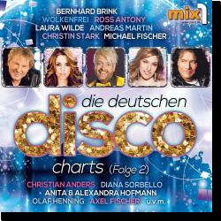 Cover: Die deutschen Disco Charts Folge 2 - Various Artists