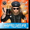 Cover:  Der Hauer - Hoch das Glas