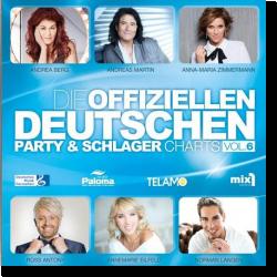 Cover: Die offiziellen Deutschen Party & Schlager Charts Vol. 6 - Various Artists