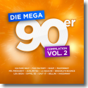 Cover:  Die Mega 90er Vol. 2 - Various Artists