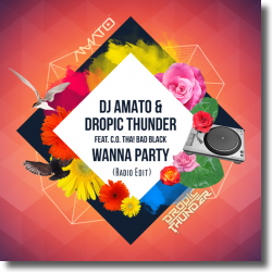 Cover: DJ Amato & Dropic Thunder feat. C.O. Tha! Bad Black - Wanna Party