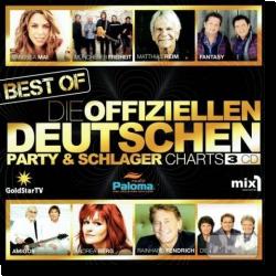 Cover: Best Of - Die offiziellen Deutschen Party & Schlager Charts - Various Artists