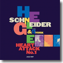 Cover:  Helge Schneider & Pete York - Heart Attack No.1