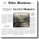 Cover:  Söhne Mannheims - Guten Morgen