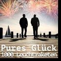 Cover:  Pures Glück - 1000 Leuchtraketen