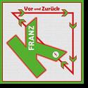 Cover:  Franz K. - Vor und zurück