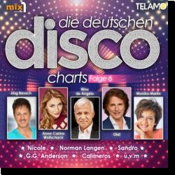 Cover: Die Deutschen Disco Charts Folge 6 - Various Artists