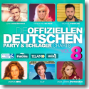 Cover:  Die offiziellen Deutschen Party & Schlager Charts Vol. 8 - Various Artists