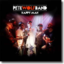 Cover: Pete Wolf Band - Happy Man