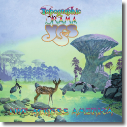 Cover: Yes - Topographic Drama - Live Across America