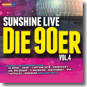Cover:  sunshine live die 90er Vol. 4 - Various Artists